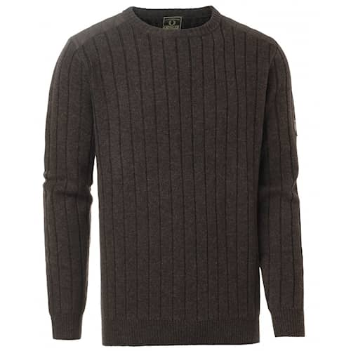 Chevalier Fjord Plated RN Sweater Brown