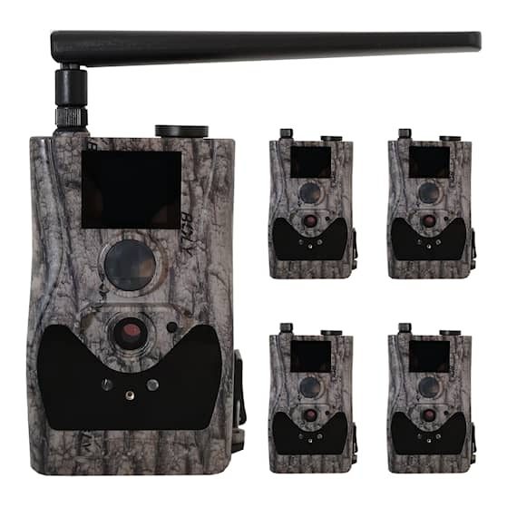 5-pack Bolyguard BG584G Övervakningskamera 4G - inkl 3 månaders HylteSIM