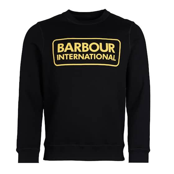 B.Intl Large Logo Sweatshirt, Black - Herr