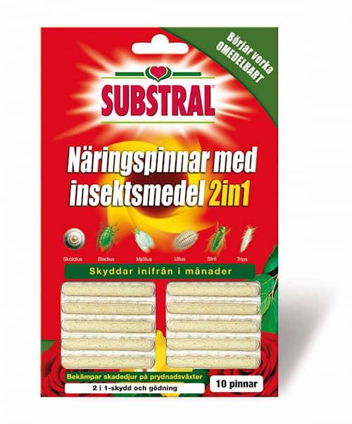 Substral-ravinnepuikot  hyönteissuojalla, 10-pakkaus