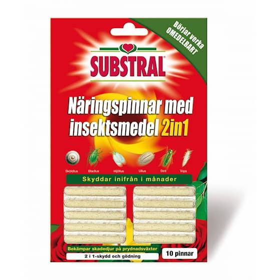 Substral näringspinnar m insektsskydd 10-pack