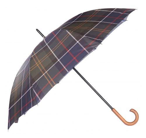 Barbour Tartan Walker Umbrella, Classic, 1