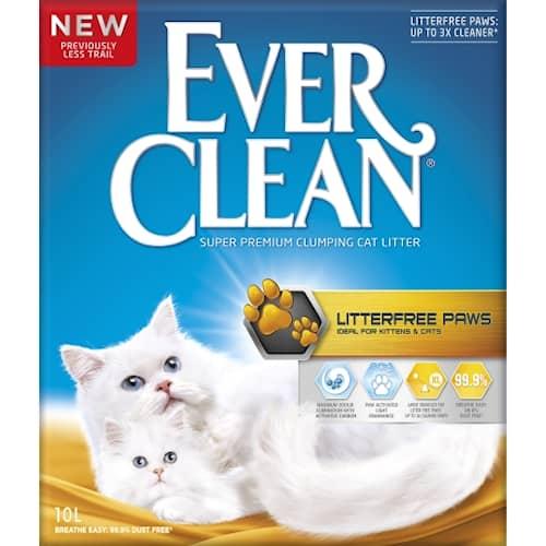 Ever Clean Litterfree Paws 10l Kattsand