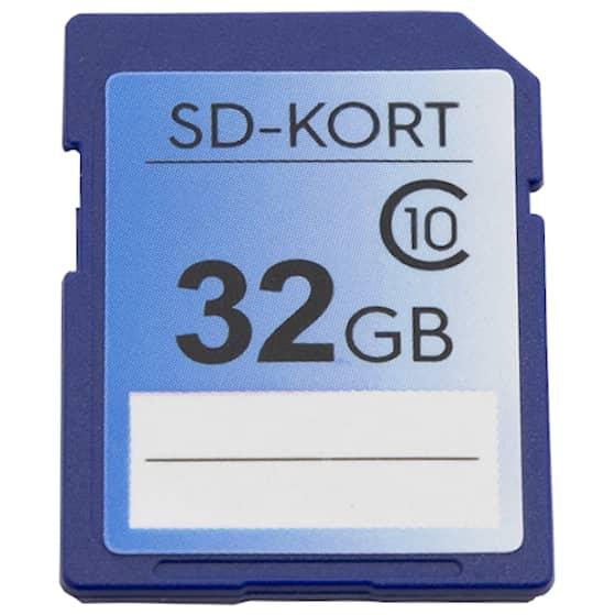 32GB SD-kort Professional