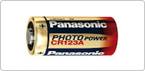 Paristo CR123 Panasonic kappaleittain