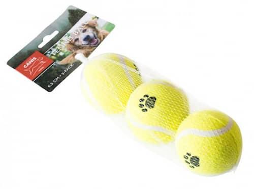 Tennispallo 6,5 cm, 3 kpl