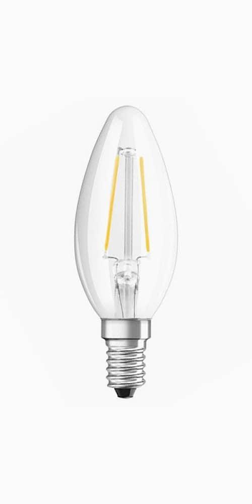 Osram Led-lamppu Retro Kron 2.1w E14 kirkas 827 Cl B (25) Osram