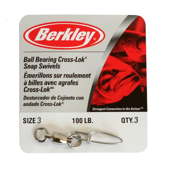 Berkley beteslås kullager-lekande strl 3 3-pack