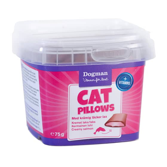 Cat Pillows Med Krämig Lax 75g
