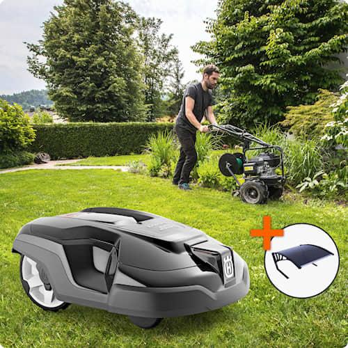 Husqvarna Automower® 310 Installerad och klar