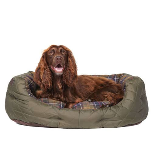 Barbour Quilted Dog Bed 30 tum