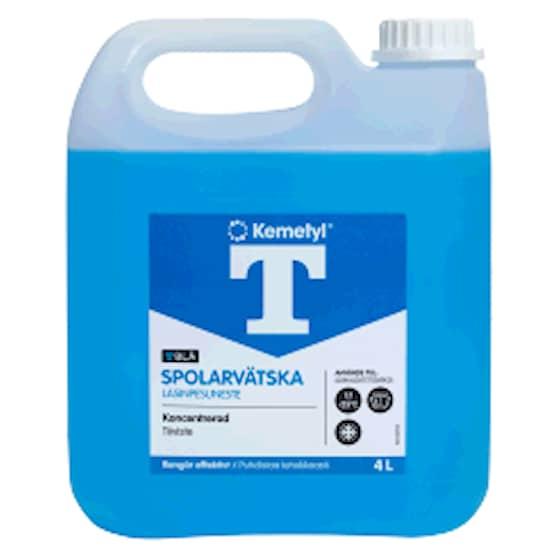 Kemetyl Spolarvätska T-blå Konc Dunk 4l