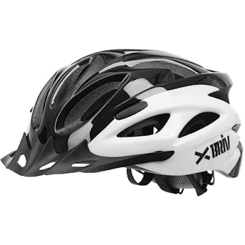 Pyöräilykypärä Briv musta/valkoinen