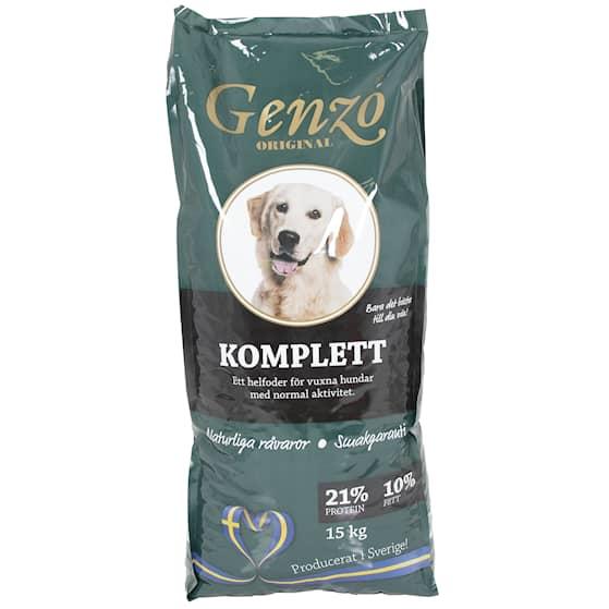 Genzo Komplett 15kg Hundfoder