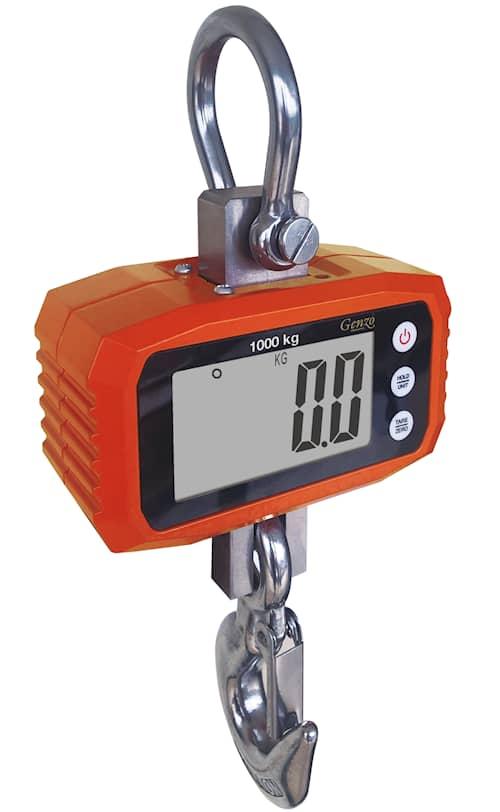 Genzo Hängvåg Digital 1000 kg
