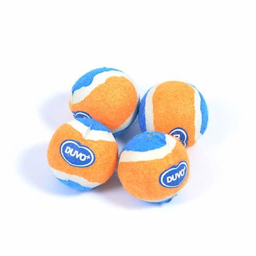 D-Tennispallo-Mini 4,2 cm oranssi/sininen 4 kpl