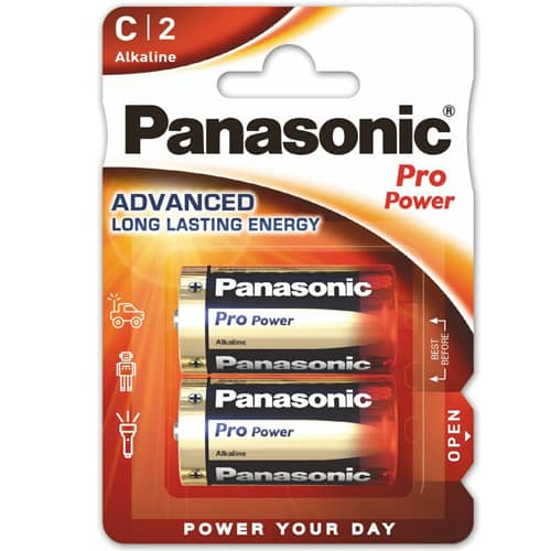 Panasonic Alkaliset Paristot Pro Power C2
