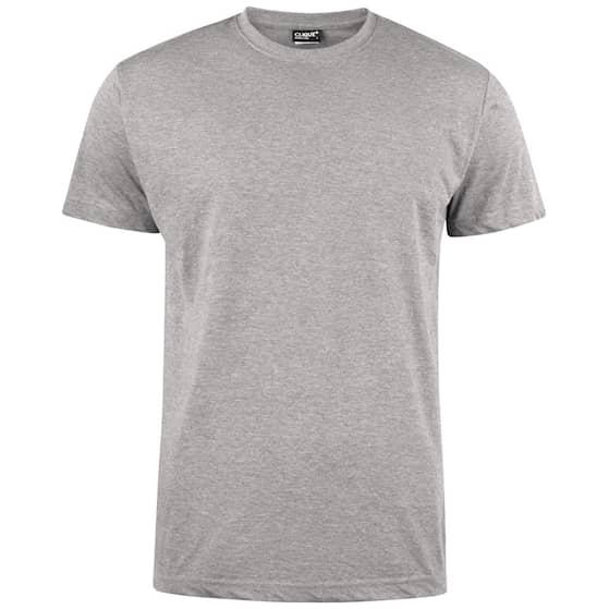 Clique T-shirt Herr Gråmelerad