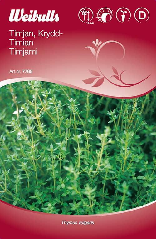 Timjan, Krydd- 7765
