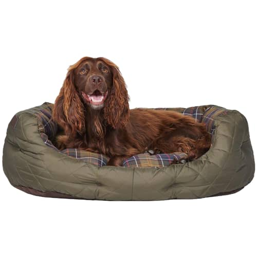 Barbour Quilted Dog Bed 24 tuumaa
