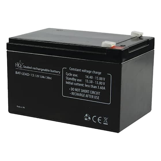 12 V Blycellsbatteri 12 Ah