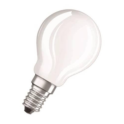 Osram Led-lamppu Retro pallo (40) matta E14 827 4w Cl P Osram