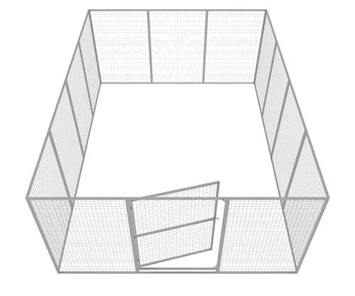 Komplett Hundgård 17 m2