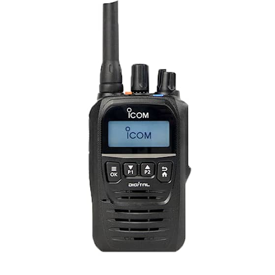 Icom ProHunt D52 - Digital/Analog jaktradio 155MHz med Bluetooth®