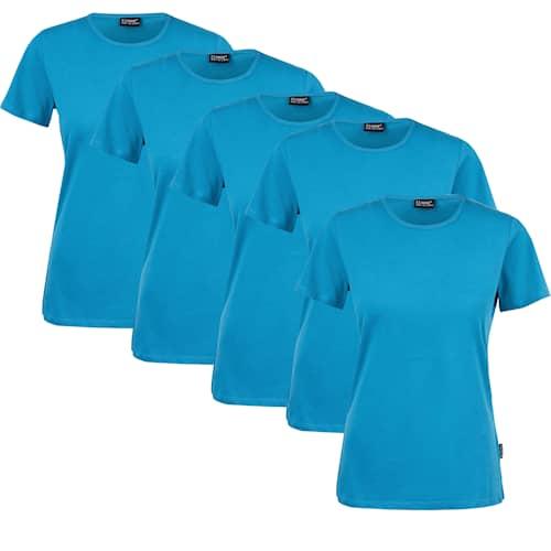 Clique T-paita Naiset 5-pack Pacific