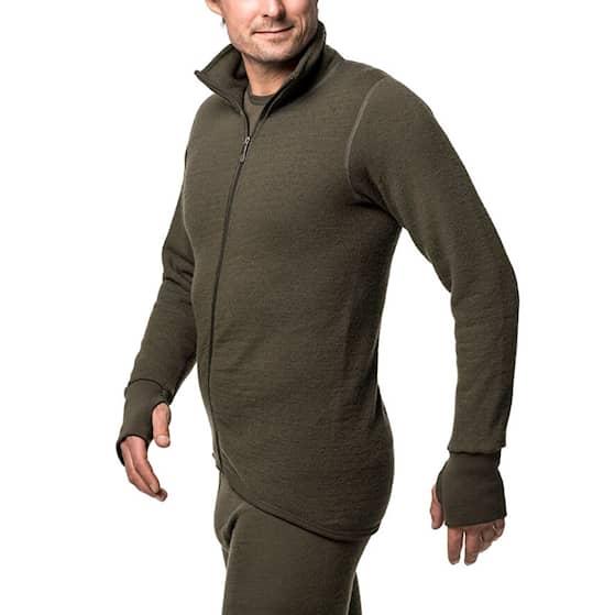 Woolpower Full Zip Jacket takki vihreä