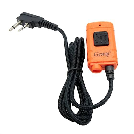 Genzo Kombi PTT (endast mikrofondelen) Vinklad kontakt -B-