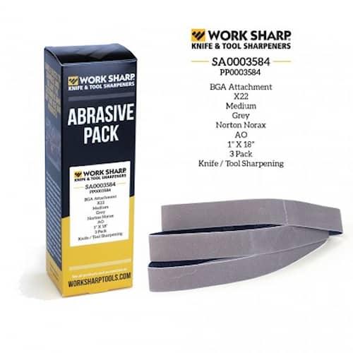 Hiomanauha tuotteeseen Worksharp Bandslipguide X22 (medium)