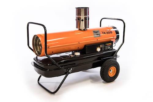 Tiger King Diesel-lämmitin savupiipulla TK-80ID