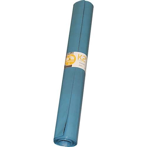 Trioplast Jätesäkki K2 Sininen/Musta 240 l 10 kpl