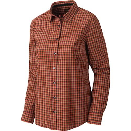 Härkila Selja Lady L / S paita Red/Black Ruutukuvio