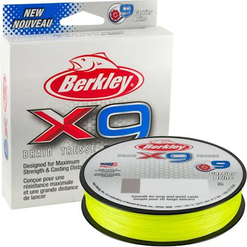 Berkley X9 150m Flame Green