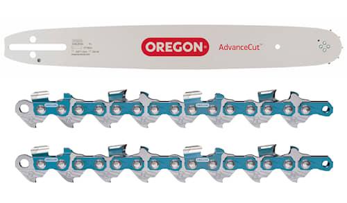 Oregon Kombi Svärd 13 tum 1,3 130MLBK095 + 2 st Sågkedjor 95TXL056