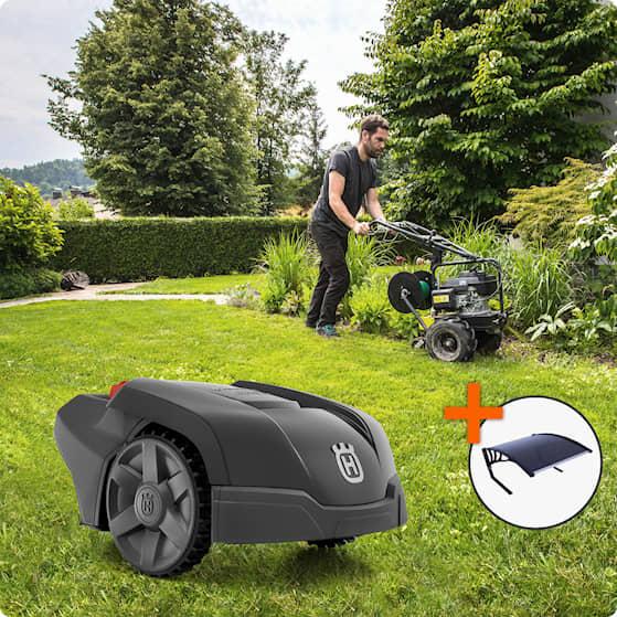 Husqvarna Automower® 105 Installerad och klar