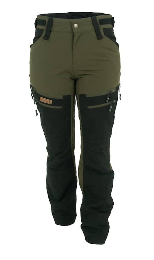 Woodline Granvik Naisten housut vihreä/musta