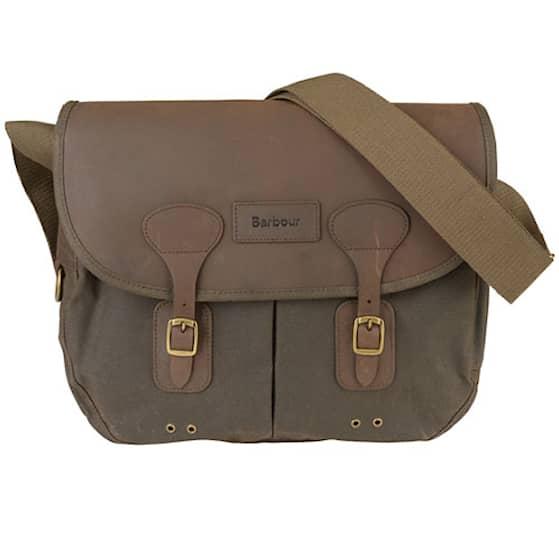 Barbour Wax Leather Tarras väska
