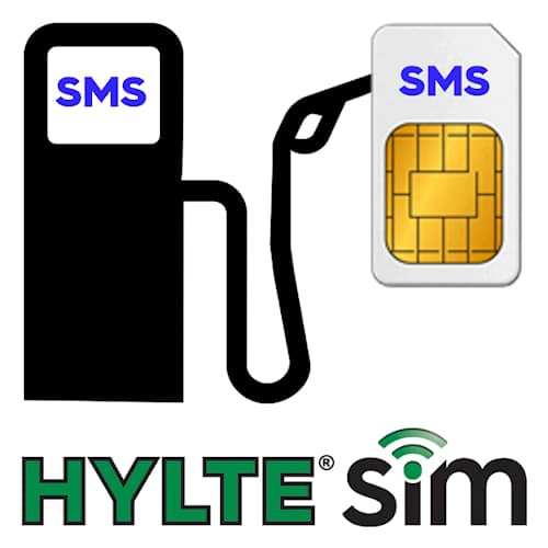 HylteSIM Påfyllning SMS 140 st
