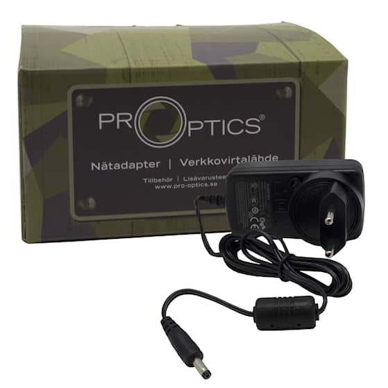 Pro-Optics nätadapter