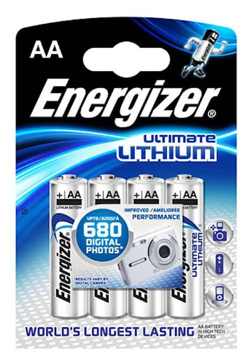 Energizer Lithium AA 4-pakkaus