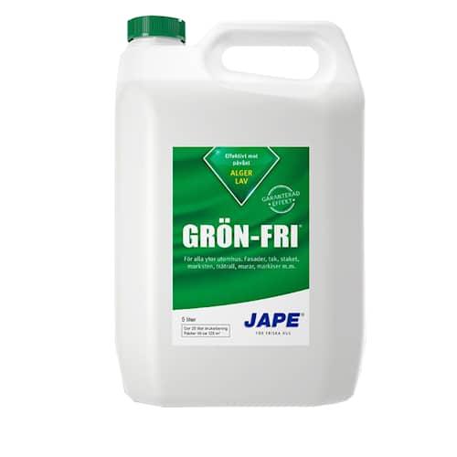 Grön-Fri Jape alg- och mögeltvätt 5 L