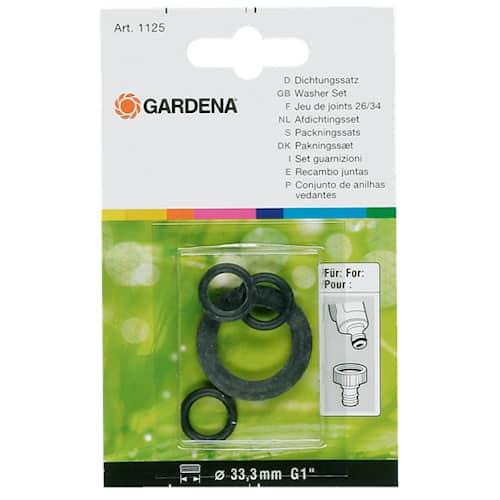 Gardena 3 st O-ring och 1 st 1/2'' flat
