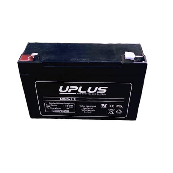 6 V Blycellsbatteri 12 Ah