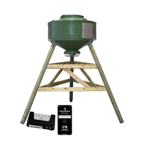 FeedCon Foderautomat 500 liter med benställning