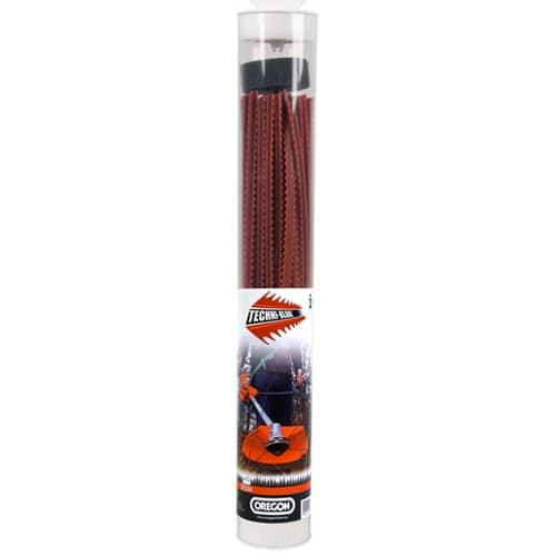 Röd Techni-blade - 7.0 mm x 26 cm - 40 st