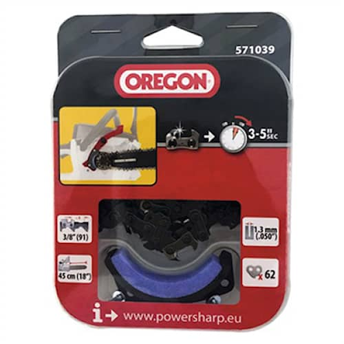 Oregon Kedja, Powersharp 3/8*1,3 Lågprofil