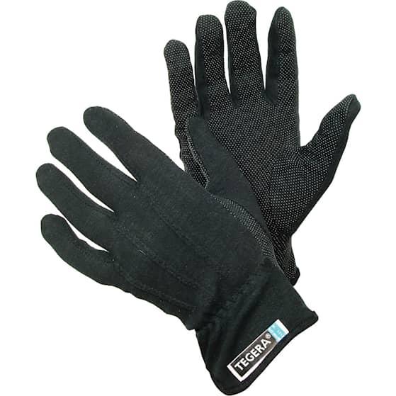 Tegera Tekstiilikäsineet Musta 8125